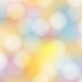 Mooie zachte pastel bokeh abstracte achtergrond