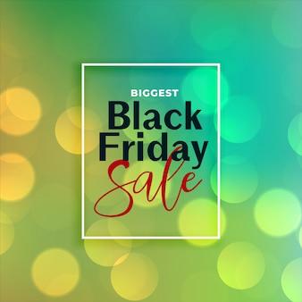Mooie zwarte vrijdag verkoop bokeh