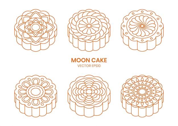 Moon cake lijn