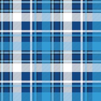 Moredn design blauw plaid naadloos patroon