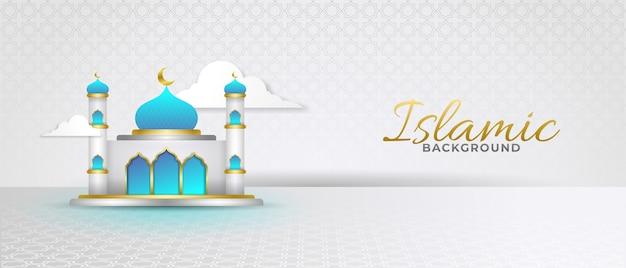 Moskee achtergrond