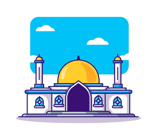 Moskee cartoon