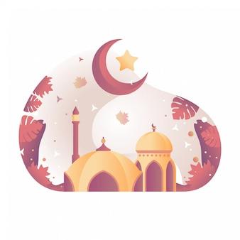 Moskee illustratie