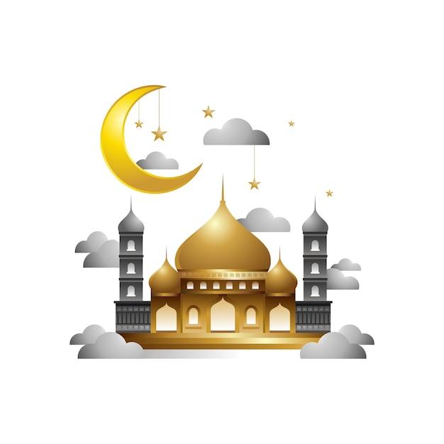 Moskee islamitisch ontwerp