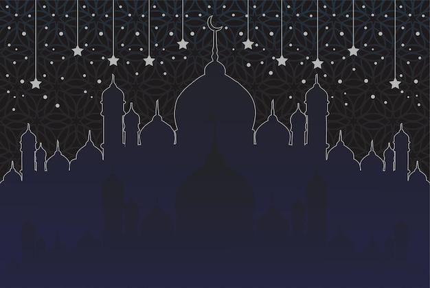 Moskee islamitische religieuze achtergrond