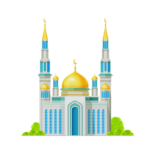 Moskee, moslimgebouw, heiligdom voor islamreligie