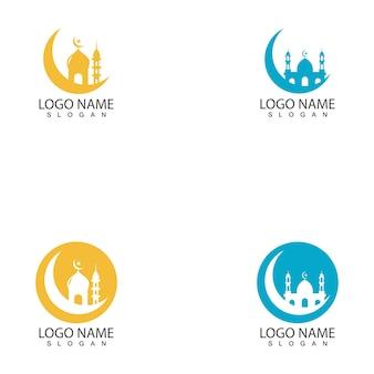 Moskee sjabloon logo