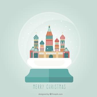 Moskou kerstbal