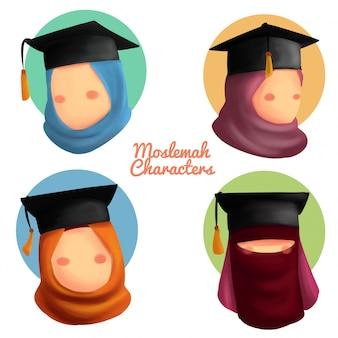 Moslemah tekens