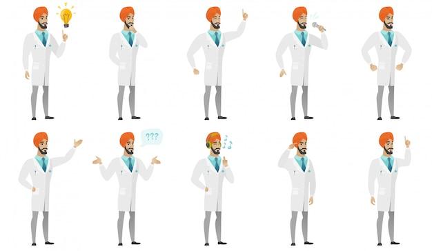 Moslim dokter ingesteld
