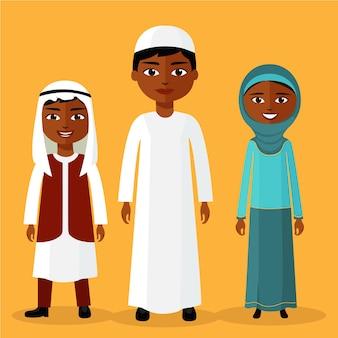 Moslimkinderen