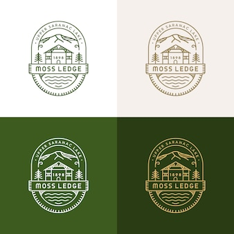 Moss ledge monoline logo