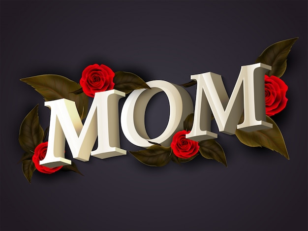 Mother's day achtergrond.