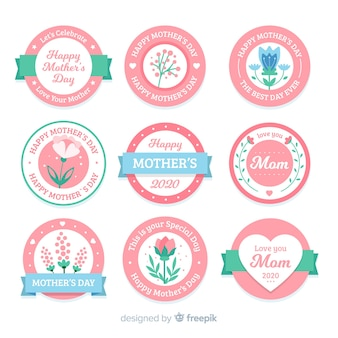 Mother's day labelverzameling