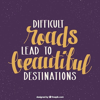 Motieven citaat over moeilijkheden