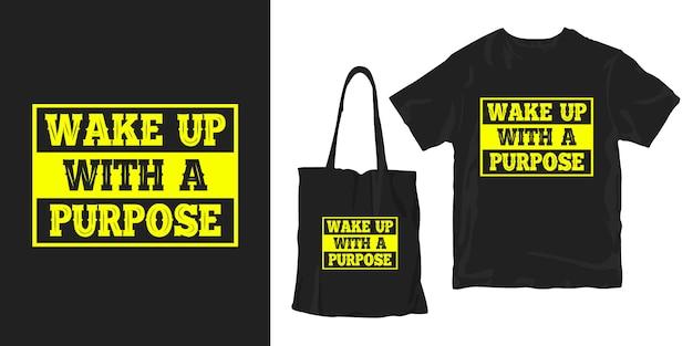 Motiverende citaten typografie poster t-shirt merchandising ontwerp