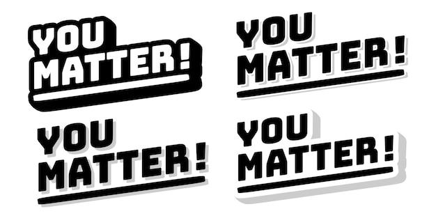 Motiverende hand belettering typografie citaat