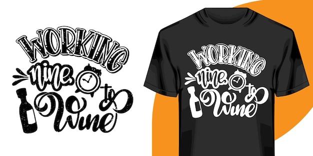 Motiverende woorden t-shirt design. handgetekende letters t-shirt design. citaat, typografie t-shirt design