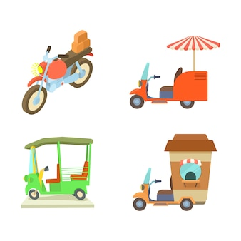 Motobike pictogramserie