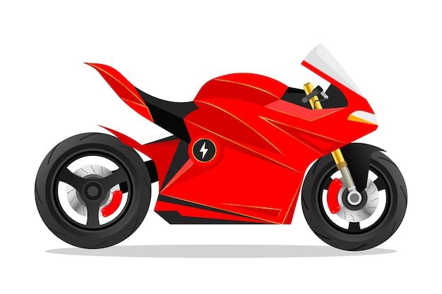 Motocycle volledig elektrische fiets