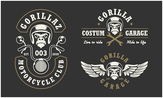 Motorclub en garage-logo
