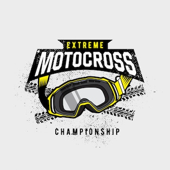 Motorcross googles