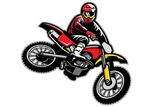 Motorcross springen