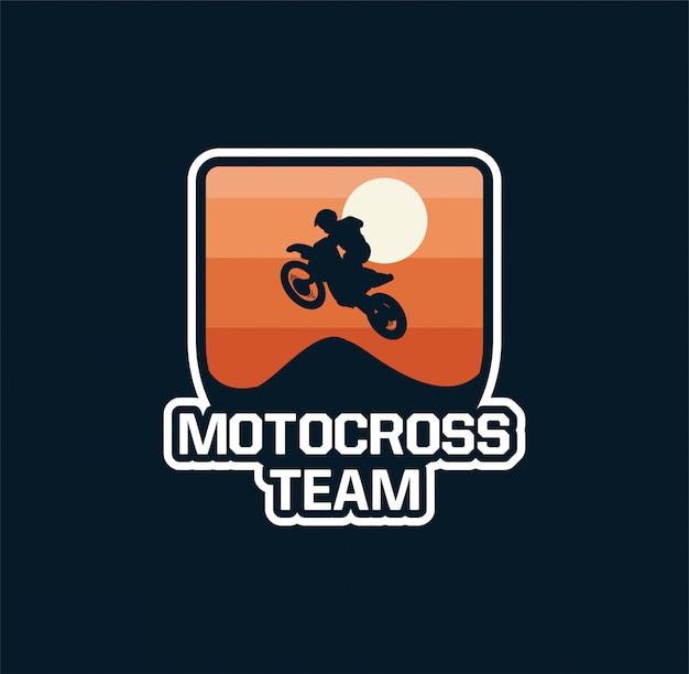 Motorcross team embleem