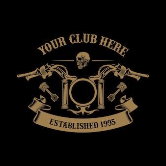 Motorcycle club-logo