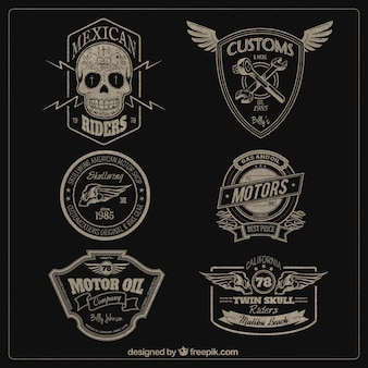 Motoren badges