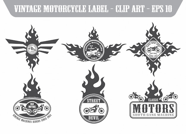 Motorfiets kunst thema