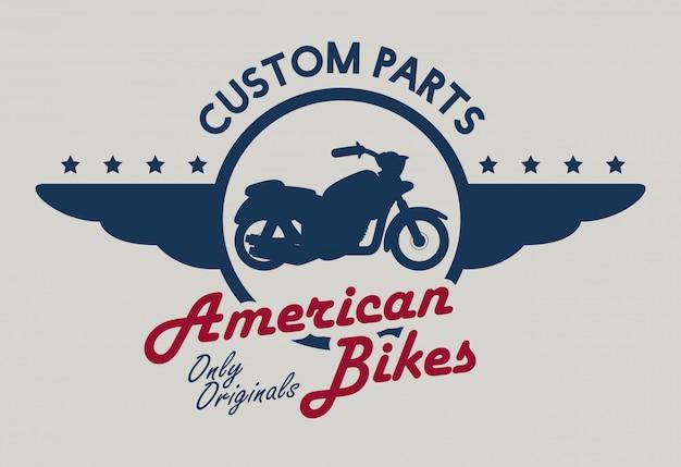Motorfiets ontwerp.