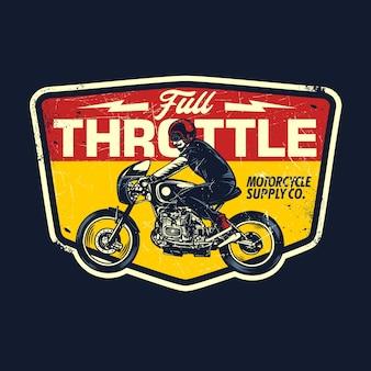 Motorfiets retro afbeelding