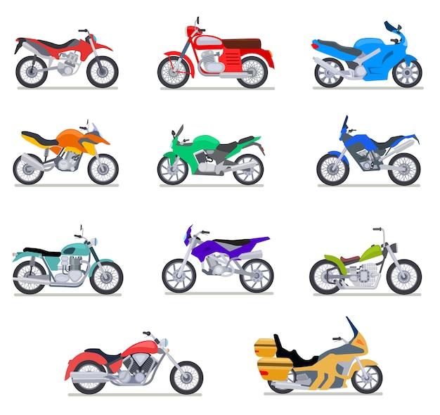 Motorfiets set