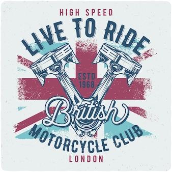 Motorfiets zuigers