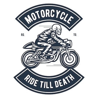 Motorfietsrit tot de dood