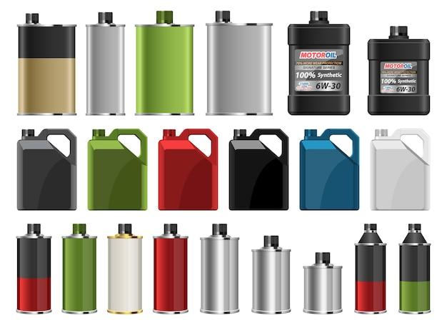 Motorolie fles illustratie geïsoleerd op een witte achtergrond