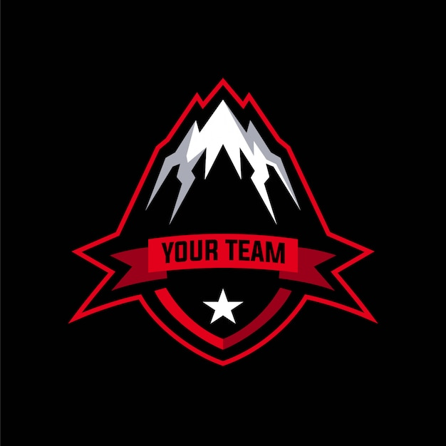 Mountain badge-logo