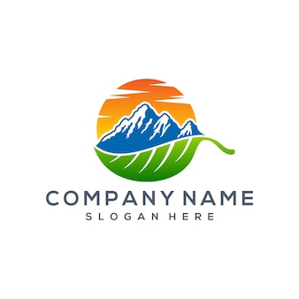 Mountain logo-ontwerp