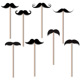 Moustache big collection