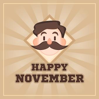 Movember achtergrond