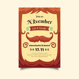 Movember-poster