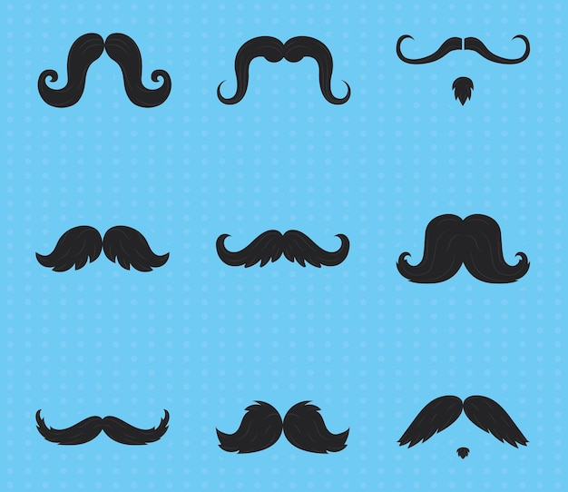 Movember snor set