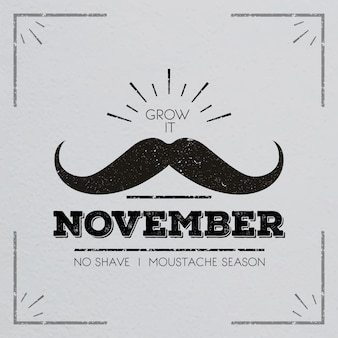 Movember snorontwerp