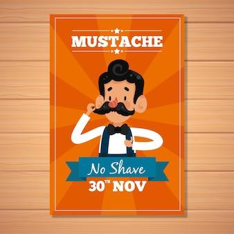 Movember starburst brochure