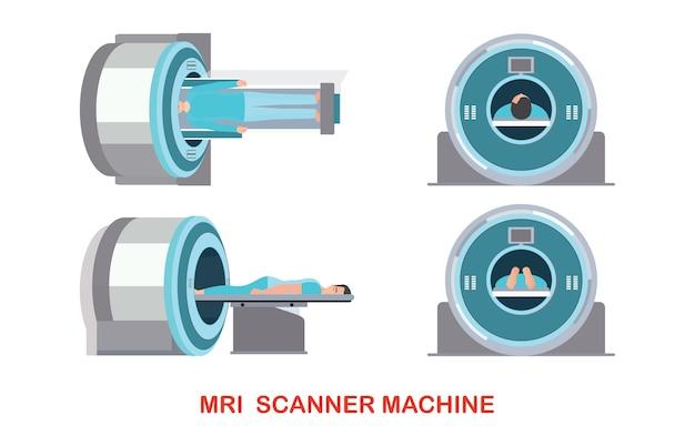 Mri-scanner machinetechnologie en diagnostiek