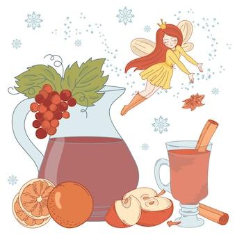 Mulled wine fairy