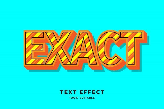 Multi gekleurd stripline teksteffect