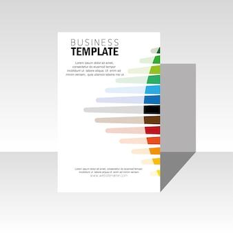 Multicolor business template