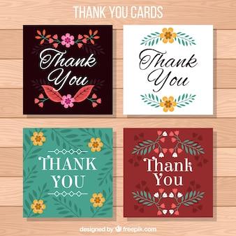 Multicolor dank u kaartinzameling